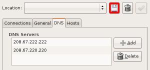 Network Settings - Save Settings